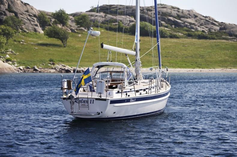 Mal� 46 at Anchor